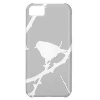Silueta minimalista elegante del pájaro