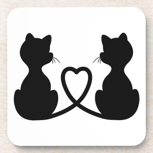 amor de silueta gato - photo #19
