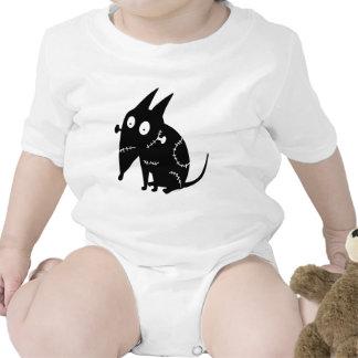 Silueta que se sienta vivaracha traje de bebé