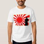 Silueta Samurai. Playera
