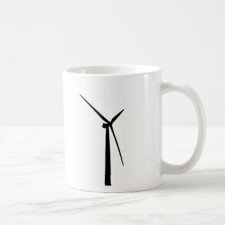 Silueta simple de la energía del verde de la taza clásica