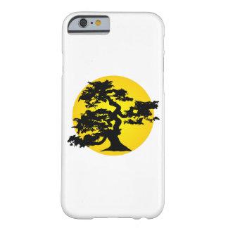 Silueta Sun de los bonsais Funda Barely There iPhone 6