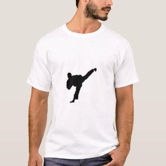 Silueta tae kwon do art T-Shirt