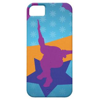 Siluetas de Breakdancing iPhone 5 Funda