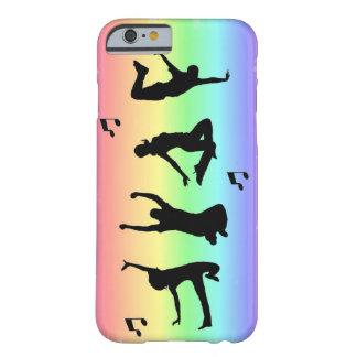 Siluetas de la danza funda barely there iPhone 6