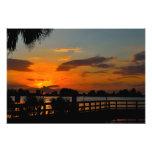 Siluetas de la puesta del sol arte fotografico