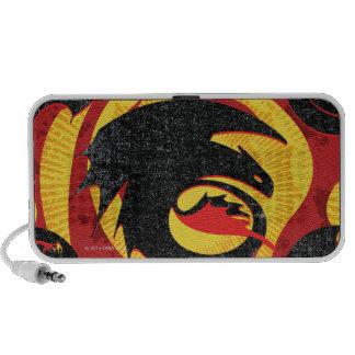 Siluetas del dragón iPod altavoces