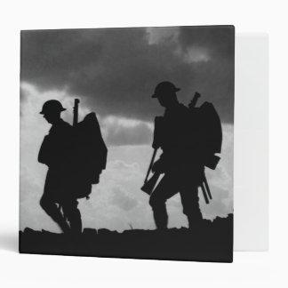 """Siluetas del soldado - batalla de Broodseinde Carpeta 2"""""""