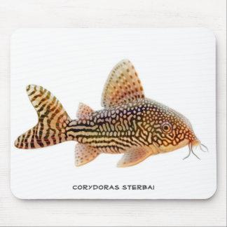 Siluro Mousepad de Corydoras Sterbai Tapete De Ratón
