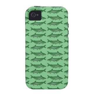 Siluro verde del siluro Case-Mate iPhone 4 funda
