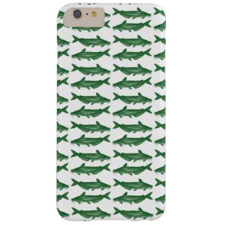 Siluro verde del siluro funda de iPhone 6 plus barely there