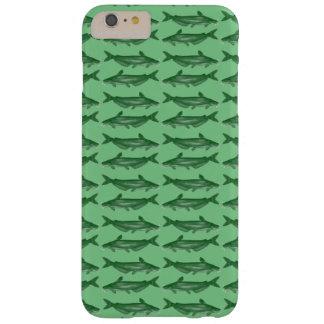 Siluro verde del siluro funda para iPhone 6 plus barely there