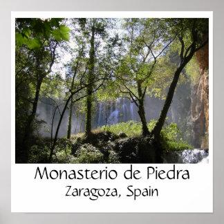 silva2, Monasterio de Piedra, Zaragoza, Spain Print