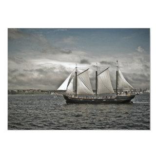 """Silva alto Halifax de la nave Invitación 5"""" X 7"""""""