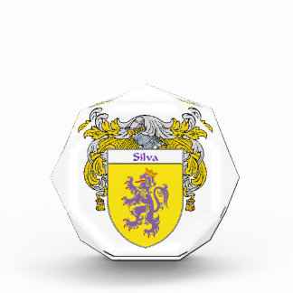 Silva Coat of Arms Family Crest Awards