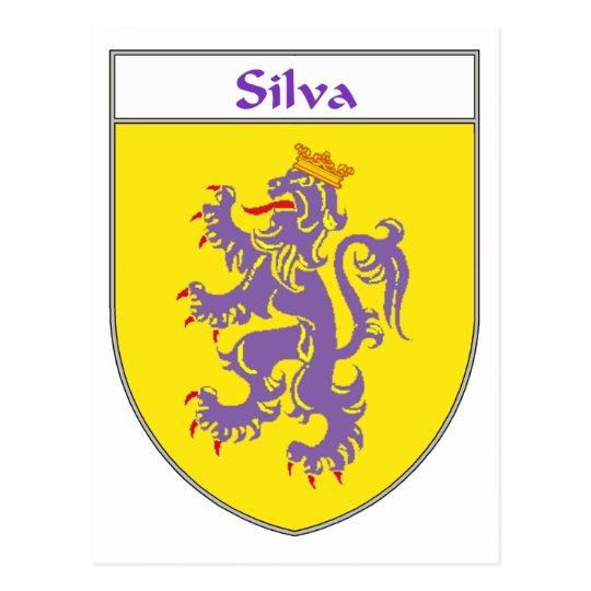Silva Coat of Arms/Family Crest Postcard
