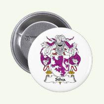 Silva Family Crest Button