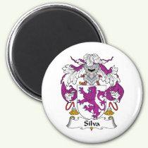 Silva Family Crest Magnet