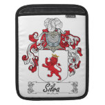 Silva Family Crest Sleeve For iPads