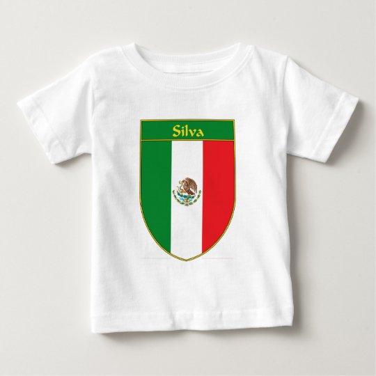 Silva Mexico Flag Shield Baby T-Shirt