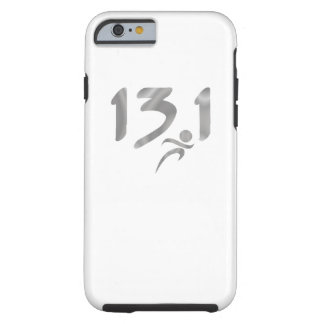 Silver 13.1 half-marathon tough iPhone 6 case
