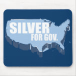 SILVER 2010 MOUSE PAD
