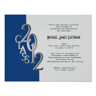 Silver 2012 Graduation Invitation