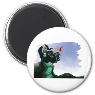Silver 2 Inch Round Magnet