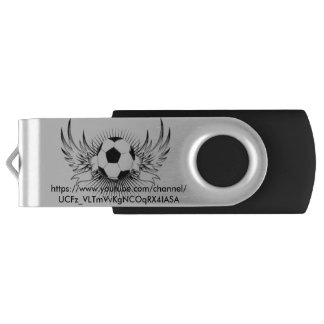 Silver 32 GB USB Flash (YouTube Merch) Flash Drive