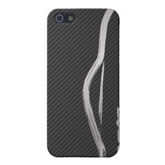 Silver 350z Brush Stroke Cover For iPhone 5