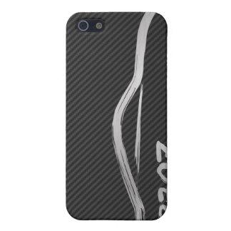 Silver 370z Gold Brush Stroke iPhone SE/5/5s Case