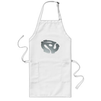 Silver 3D 45 RPM Adapter Long Apron