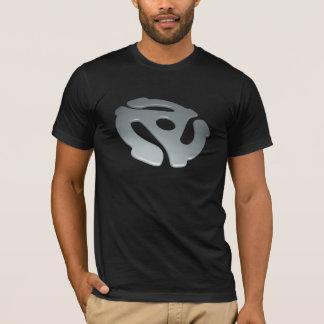Silver 3D 45 RPM Adapter T-Shirt
