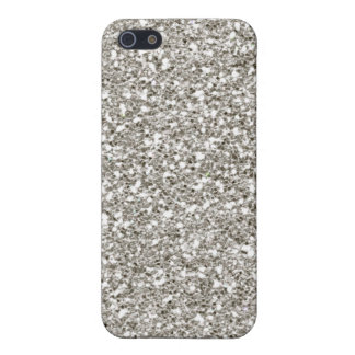 Silver 4 Glitter Hanukkah  Cover For iPhone SE/5/5s