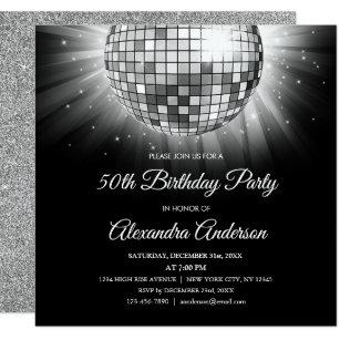 Disco Ball Invitations Announcements Zazzle