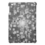 Silver abstract background iPad mini covers