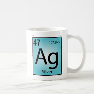 Silver (Ag) Element Mug