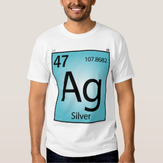 Silver (Ag) Element T-Shirt - Front Only