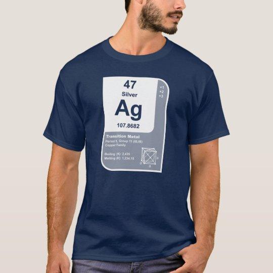 Silver (Ag) T-Shirt