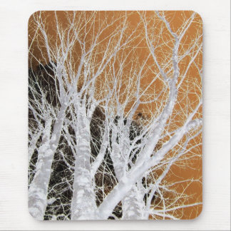 Silver Alder Tree Art Mousepads