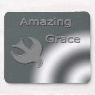 Silver Amazing Grace Mousepads