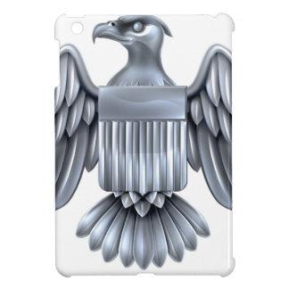 Silver American Eagle Shield iPad Mini Cover