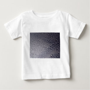 0b284ababd56 Silver and Black 3d Water Droplet Spray Paint Art Baby T-Shirt