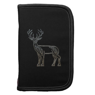 Silver And Black Deer Celtic Style Knot Organizers