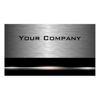 Silver and Black  Professional Business Card
