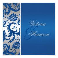 Cobalt Blue Wedding Invitations & Announcements | Zazzle