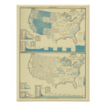 Silver and copper mining regions print