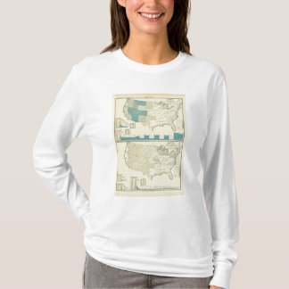 Silver and copper mining regions T-Shirt