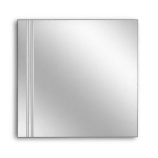 Silver and DIamond Effect Custom Envelopes, Square Envelope
