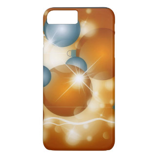 Silver And Gold Balls For Christmas iPhone 7 Plus Case